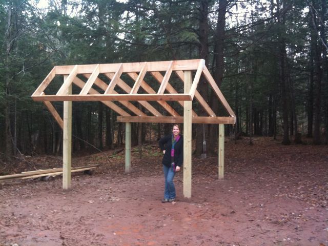 Tractor Shelters Storage Sheds : Gerry woodworkers